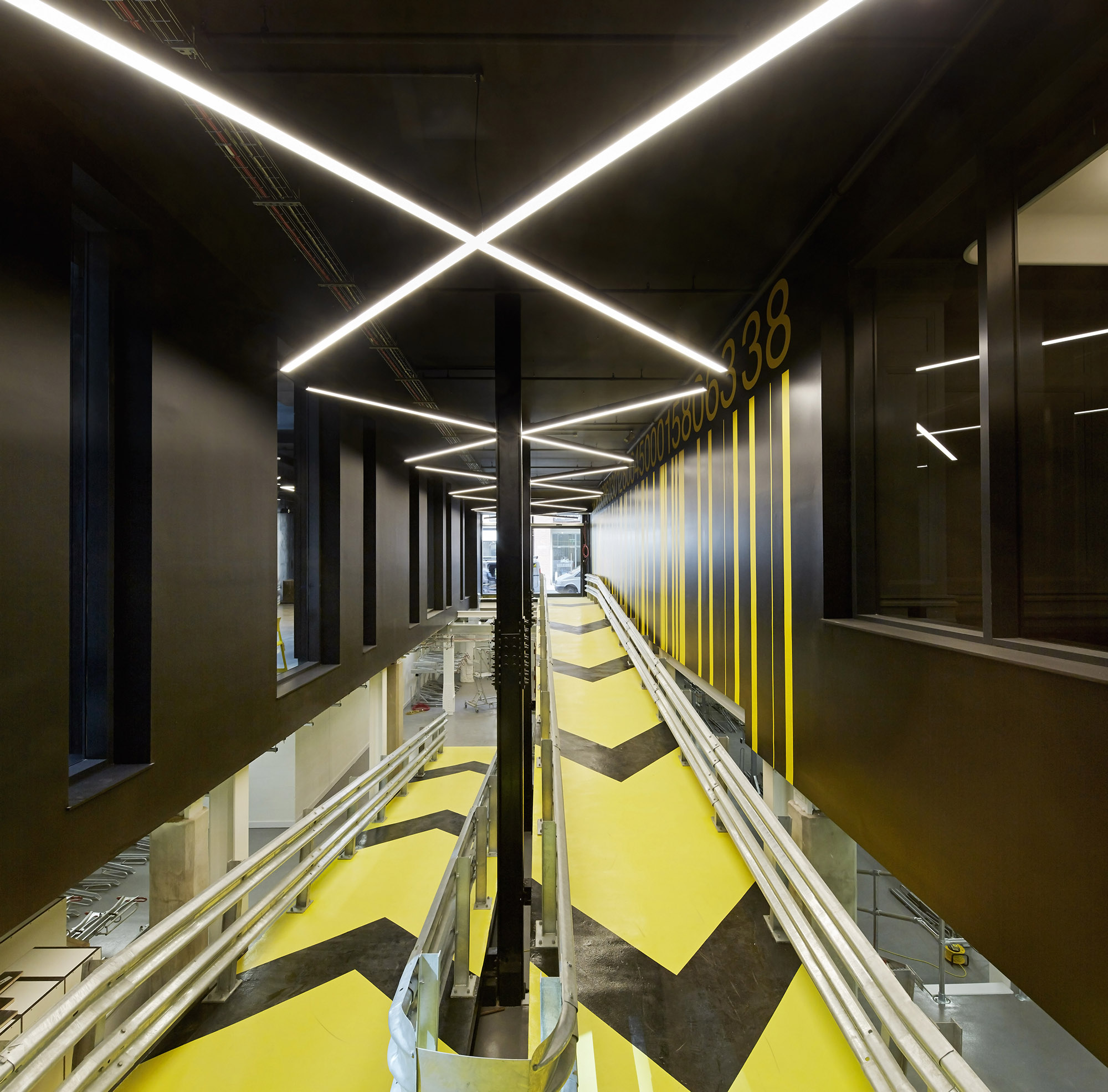 Huckletree's innovative ride-in office ramp
