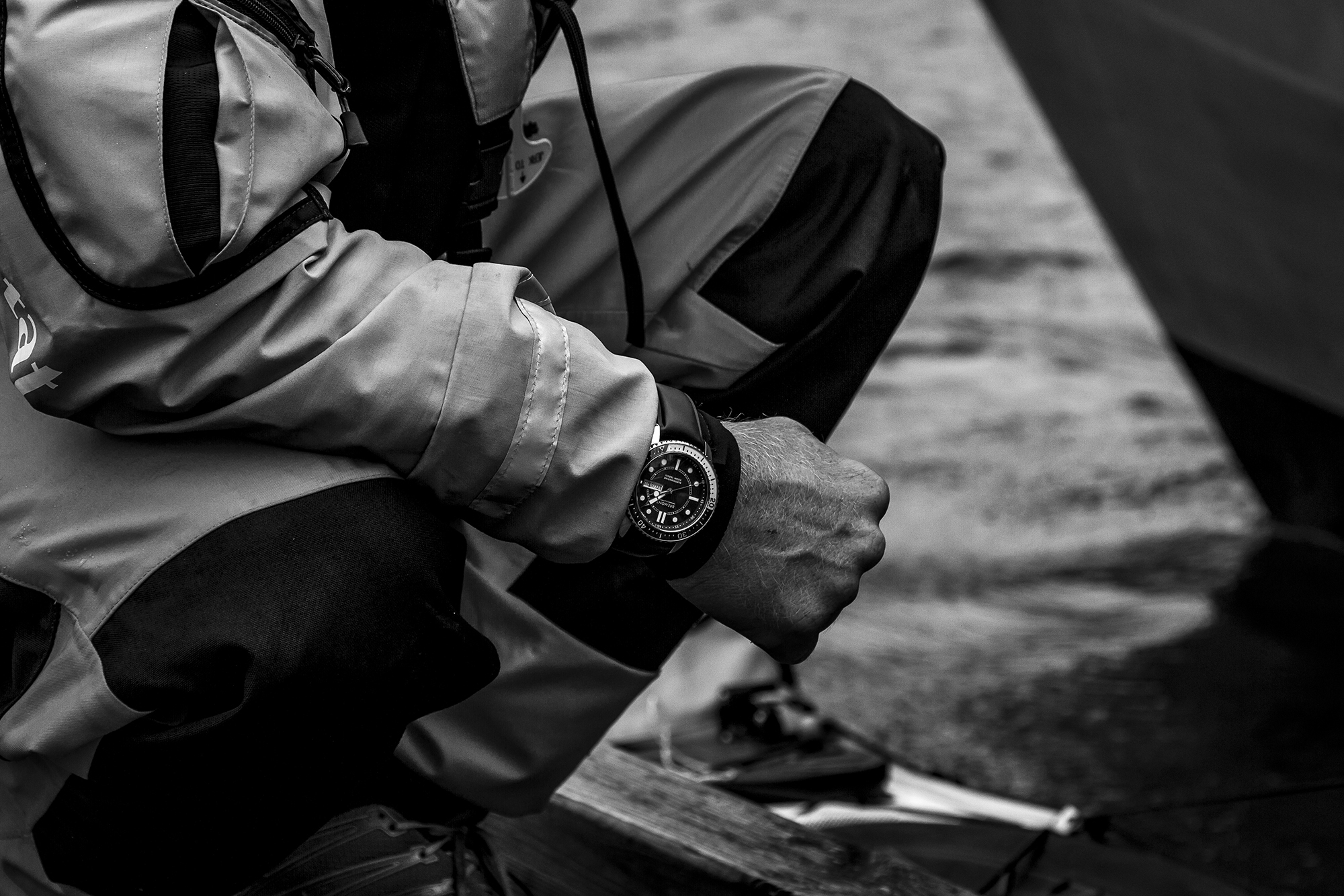 Olly Hicks' Bremont Supermarine S500
