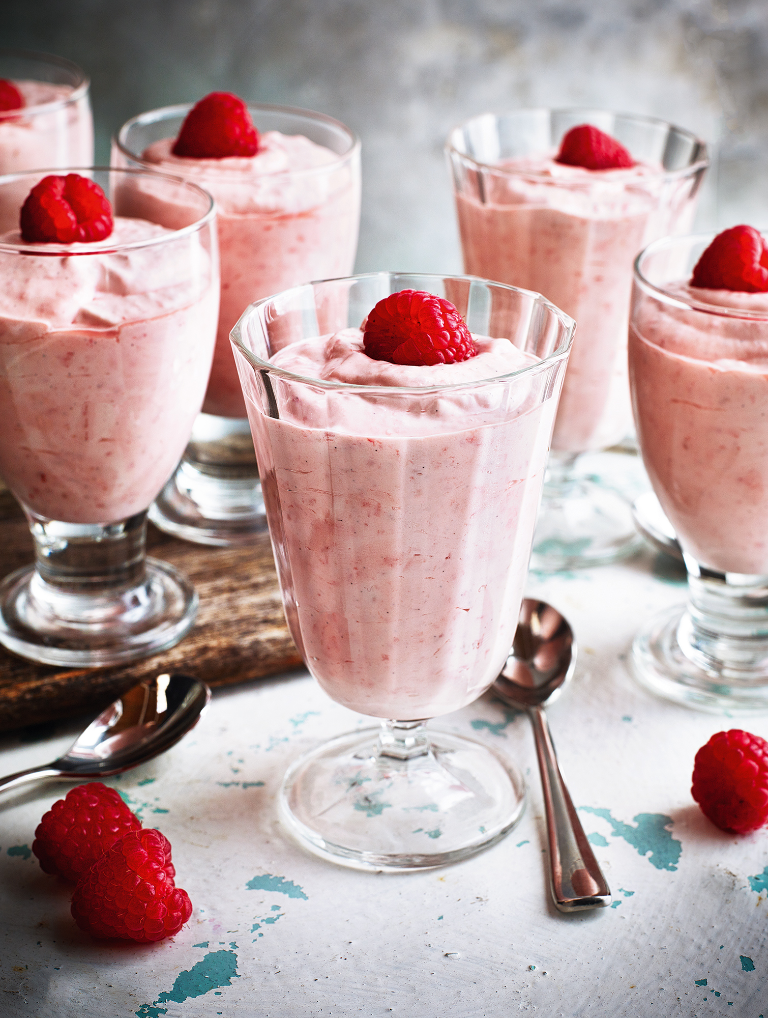 Raspberry and cardamom fool