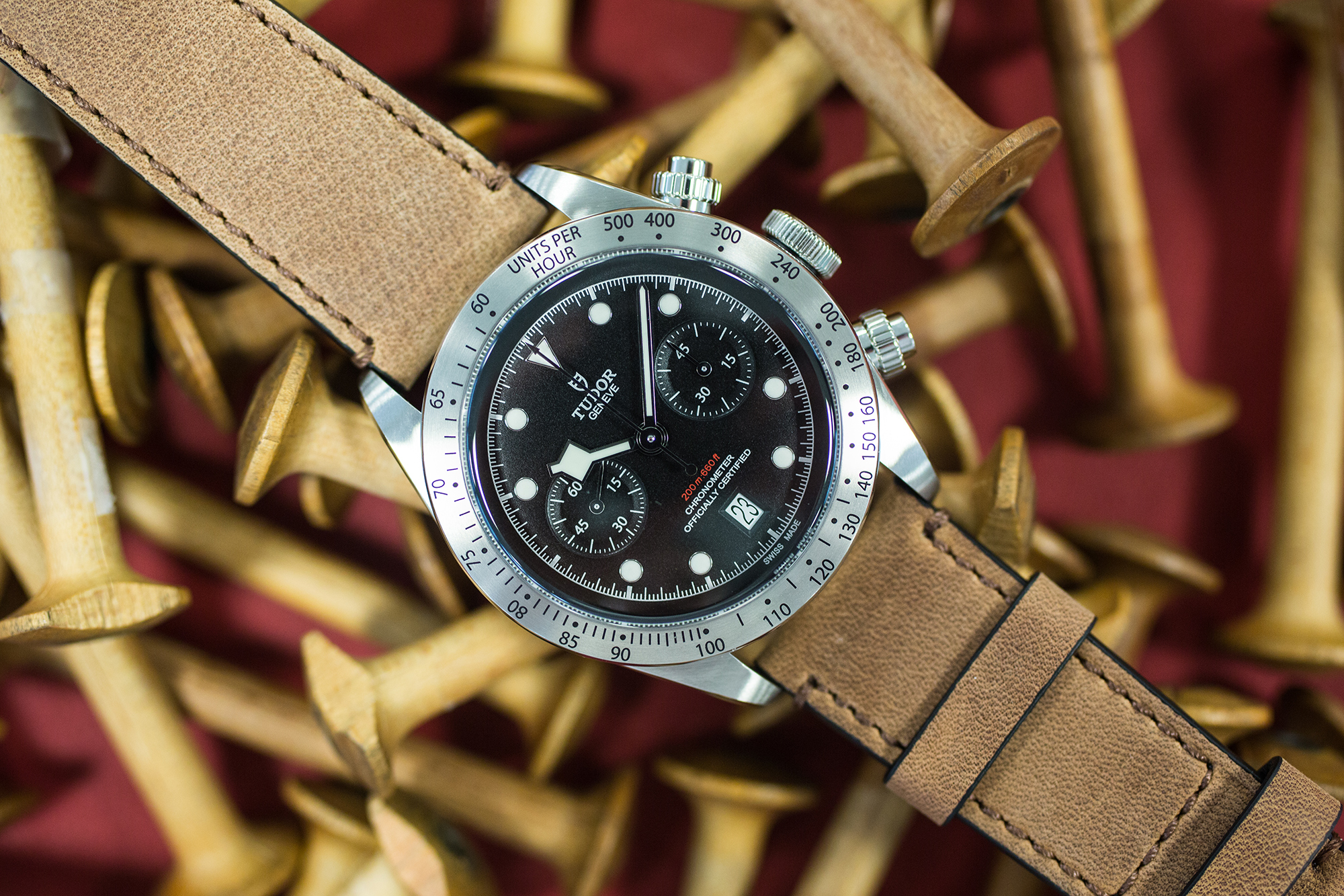 The Tudor Heritage Black Bay Chrono