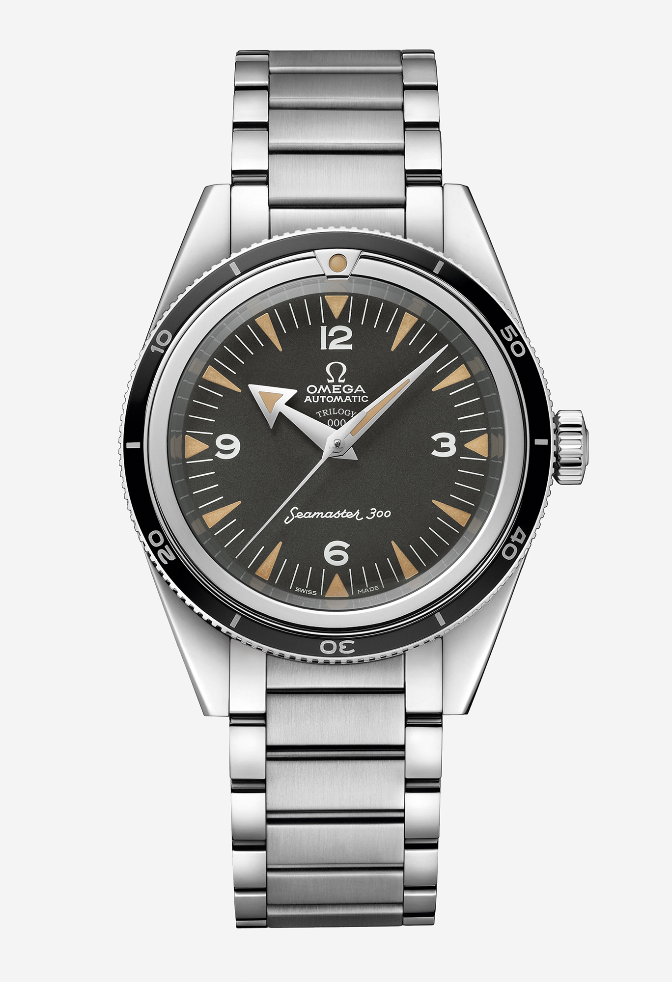 Omega: Launched in 1957, the original Seamaster 300 (above) marks turning 60 with an updated model using Omega's innovative technology. £5,200; omegawatches.com
