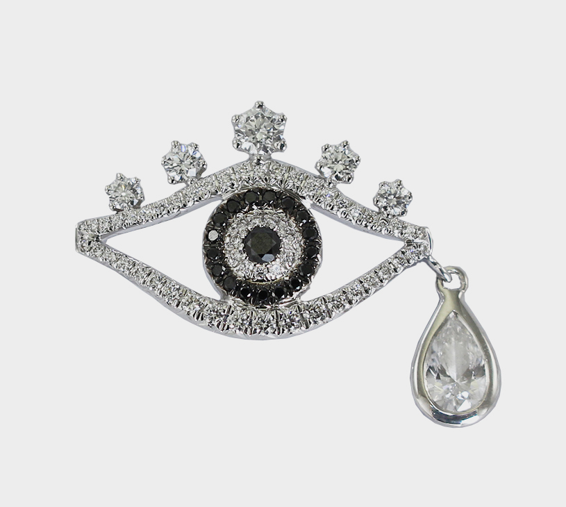Eye charm by Mary Ching