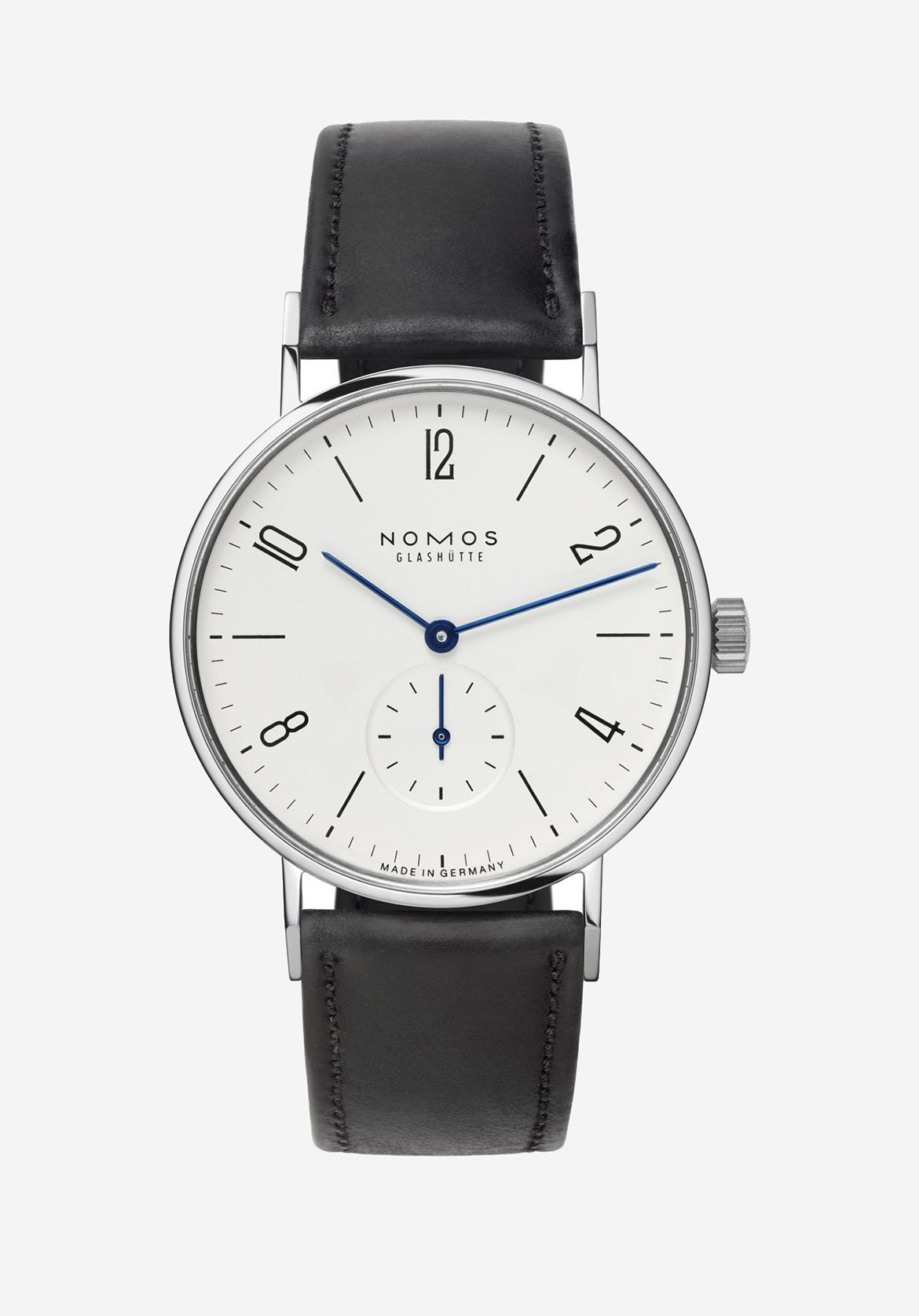 Nomos Glashütte: The Tangente model turns 25 this year - and has remained a best-seller. £1,380; nomos-glashuette.com