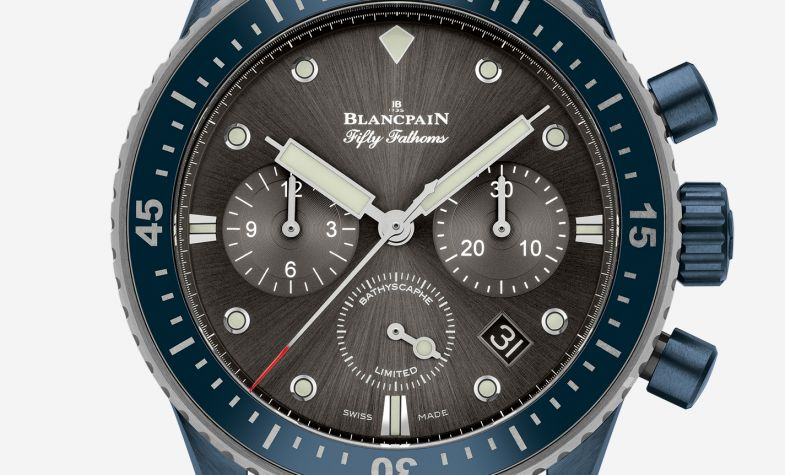 Sales of this Blancpain timepiece aid ocean conservation