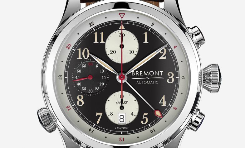 Bremont's retroaviation inspired DH-88 chronograph aids preservation of vintage planes