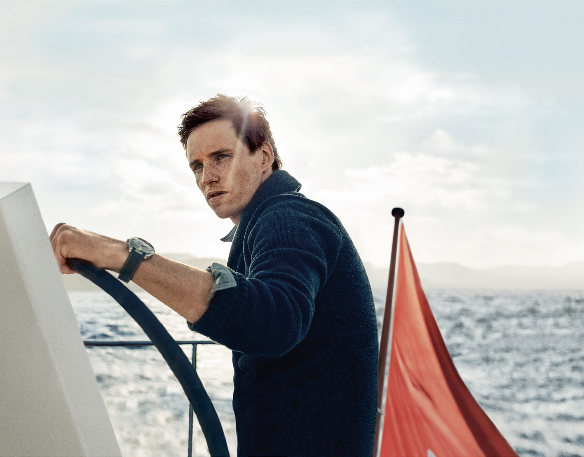 Eddie Redmayne for Omega