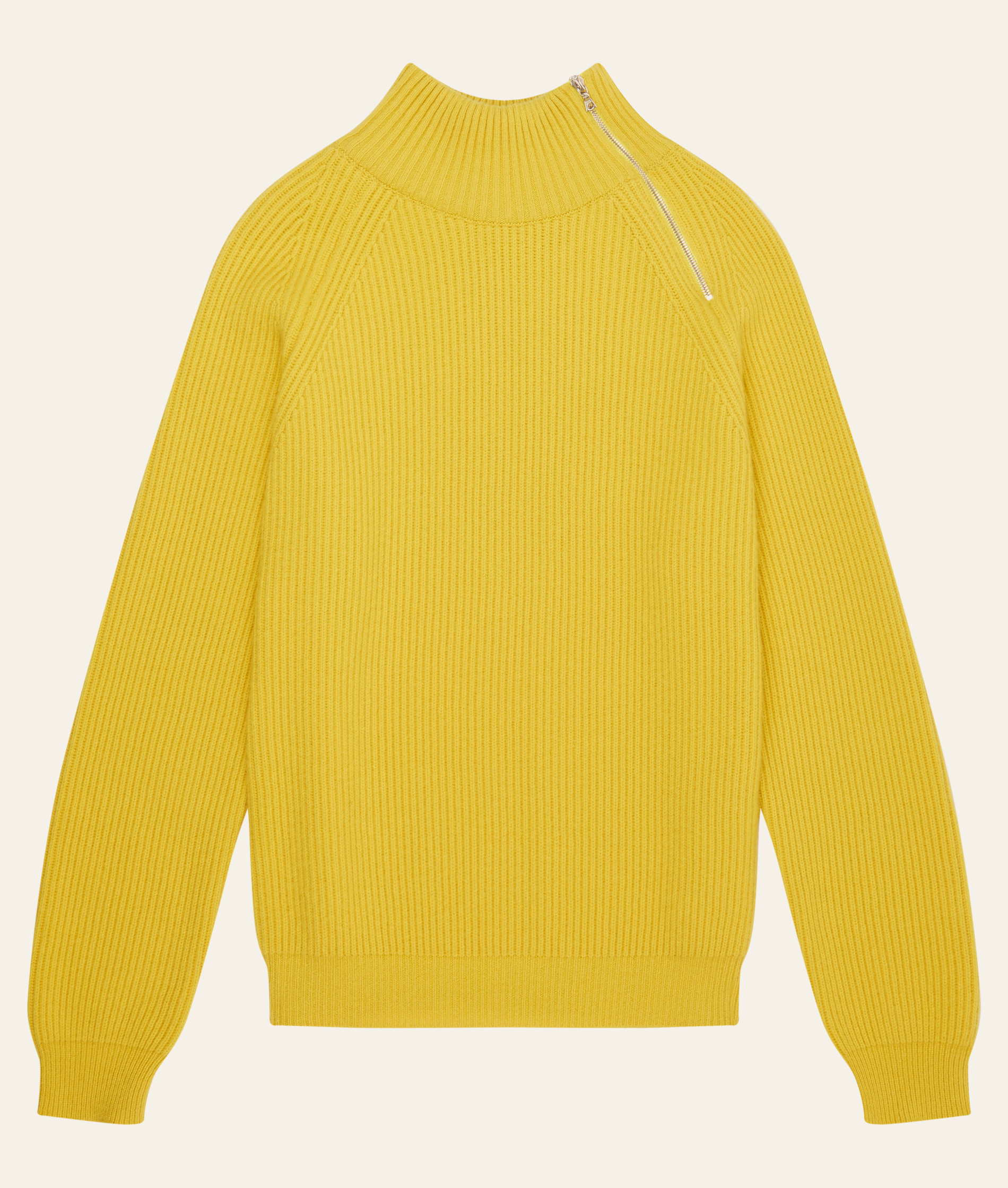 Connolly Cashmere Yellow Driving Sweater
