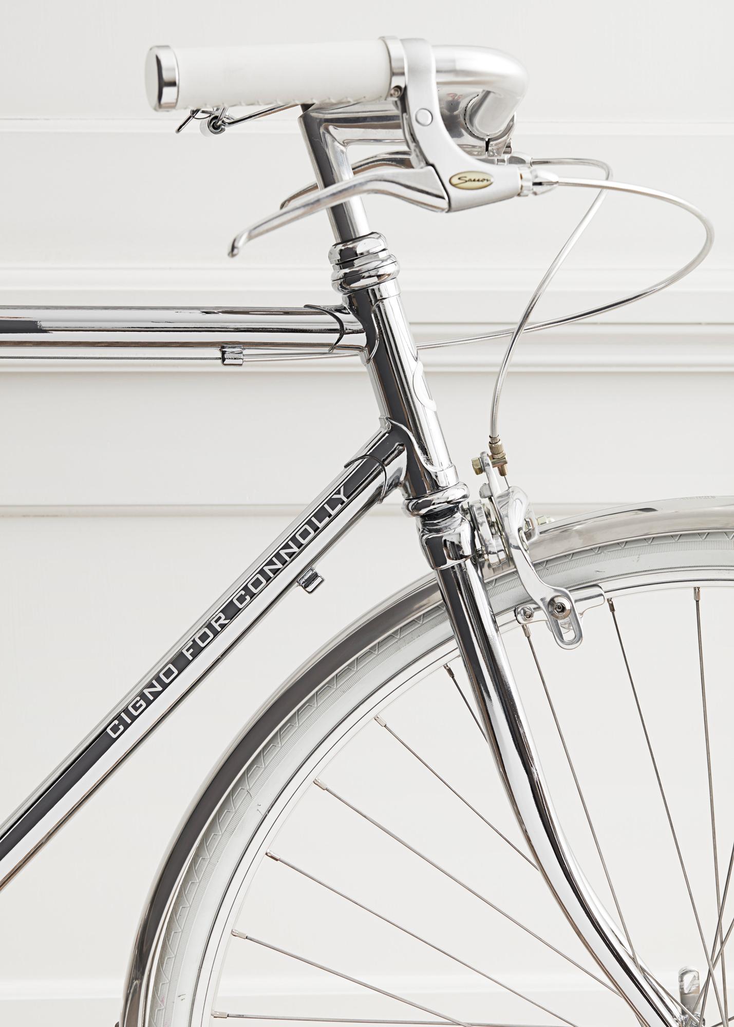 Cigno x Connolly Hand Made Bike