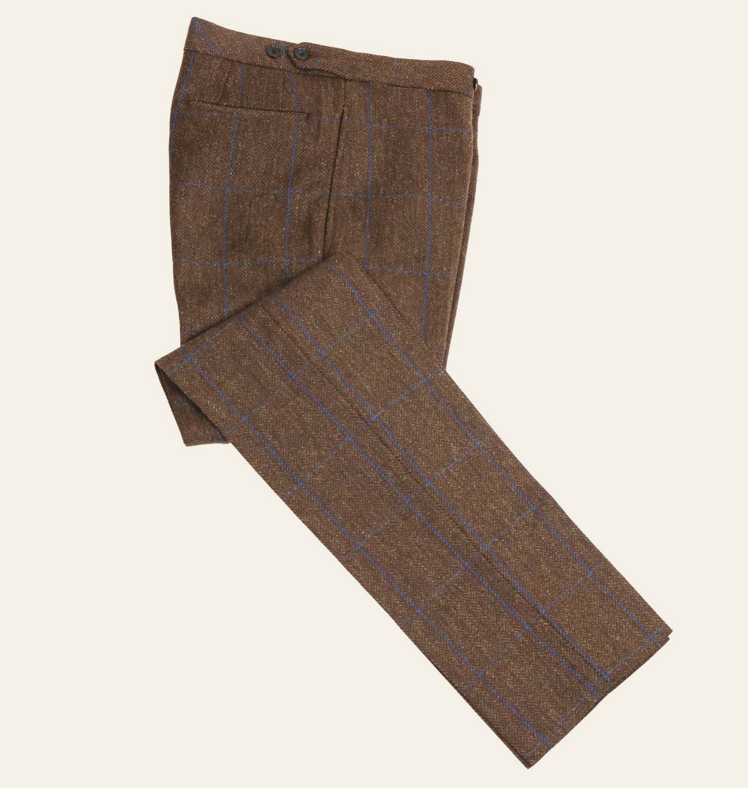 Connolly Driving Tweed Trouser