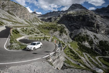 Alfa's Stelvio explores the Italian mountain road from which it takes its name