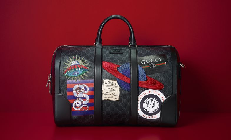 82dc538feddf Gucci Night Courrier soft GG Supreme carry-on duffle; £2,690