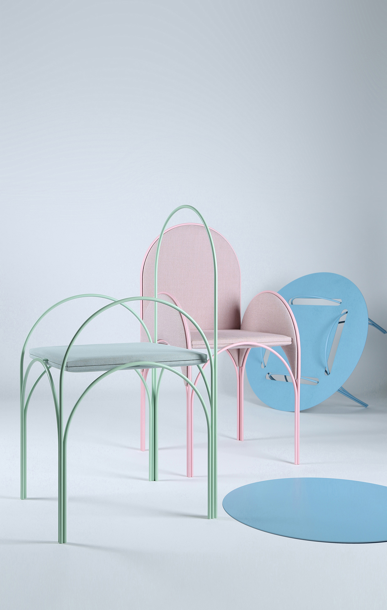 Richard Jasmine's Hawa Beirut chairs