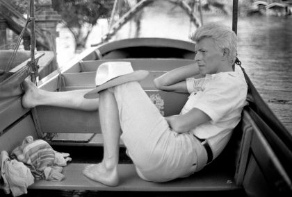 David Bowie in Bangkok, 1983, taken by Denis O'Regan