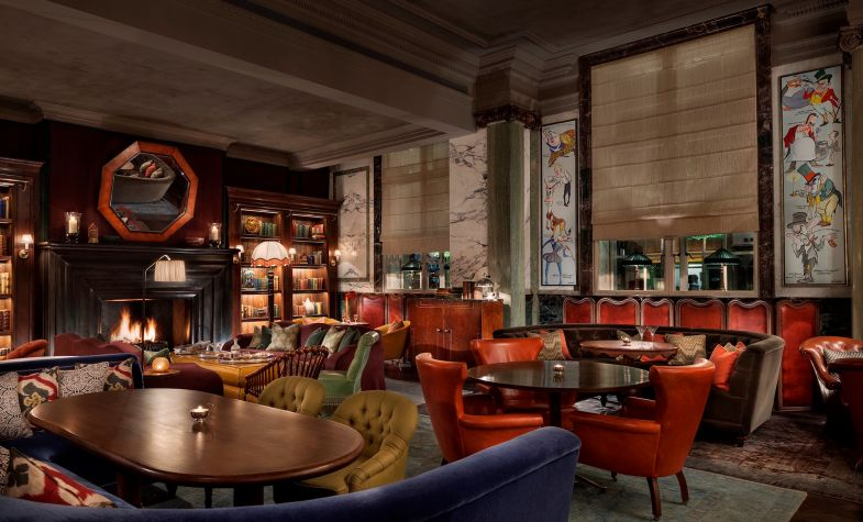Scarfes Bar Rosewood London