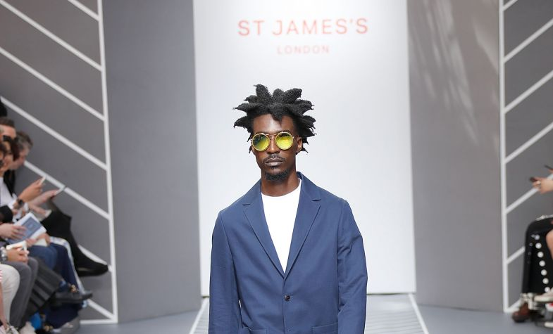 London Fashion Week: St James's