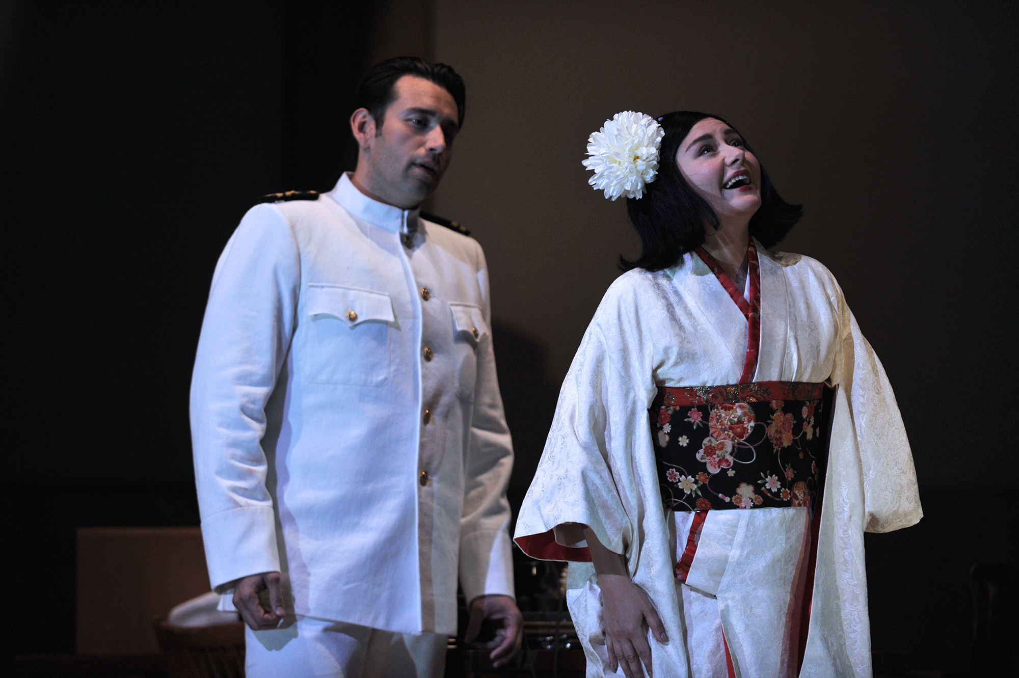 Joshua Guerrero, starring in Madama Butterfly at Glyndebourne