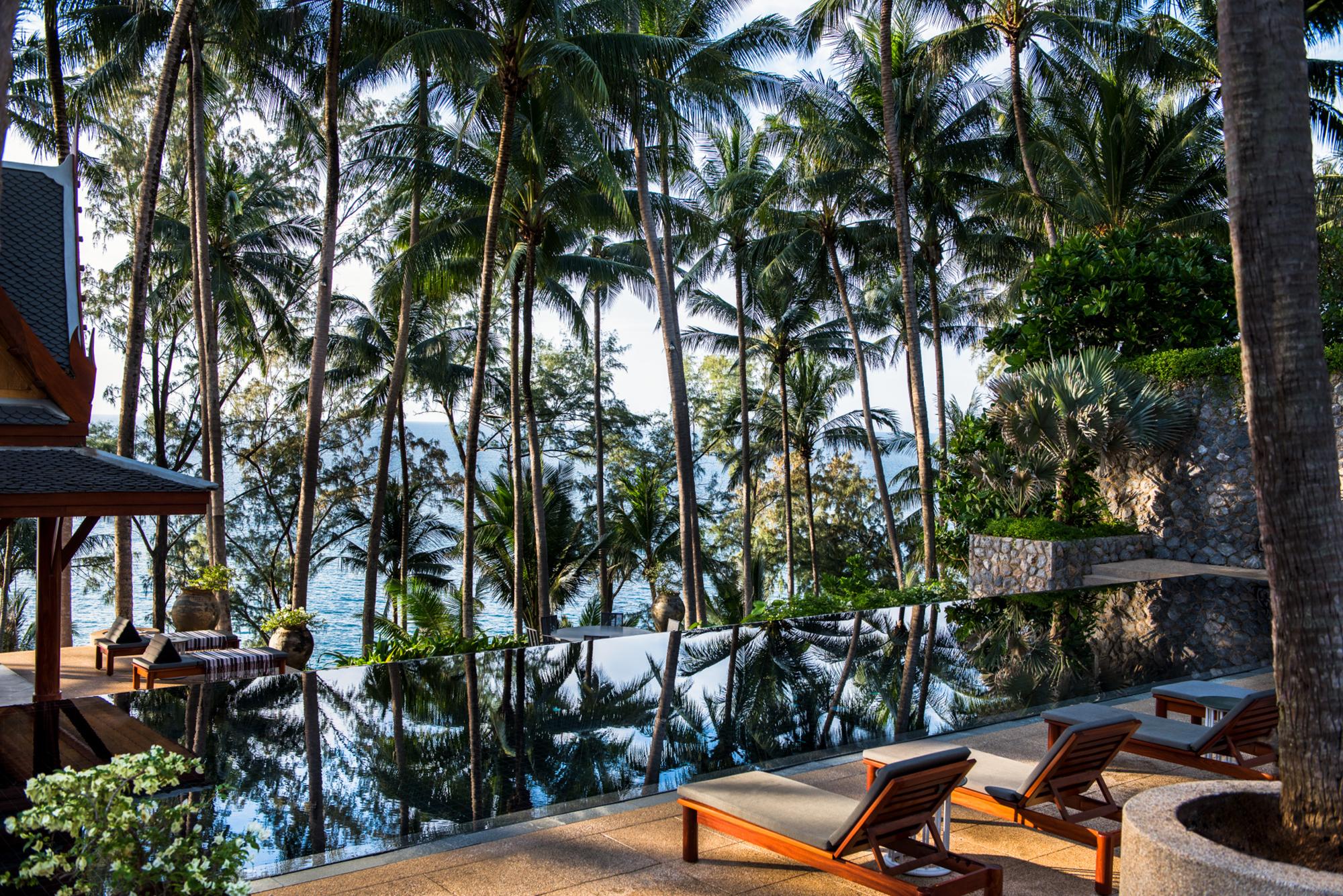 Villa pool at Amanpuri, Phuket