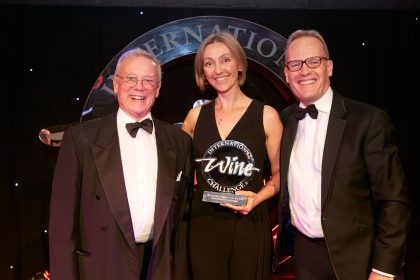 Cherie Spriggs, the first woman to win the International Wine Challenge's Sparkling Winemaker of the Year 2018