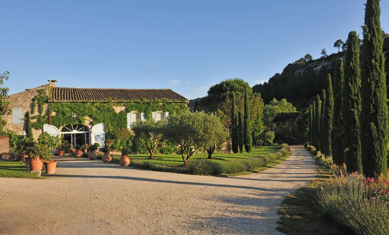 Nestled in Provence countryside, La Bastide de Marie