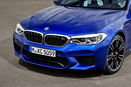 The muscular BMW M5 retains the DNA of its forebears.