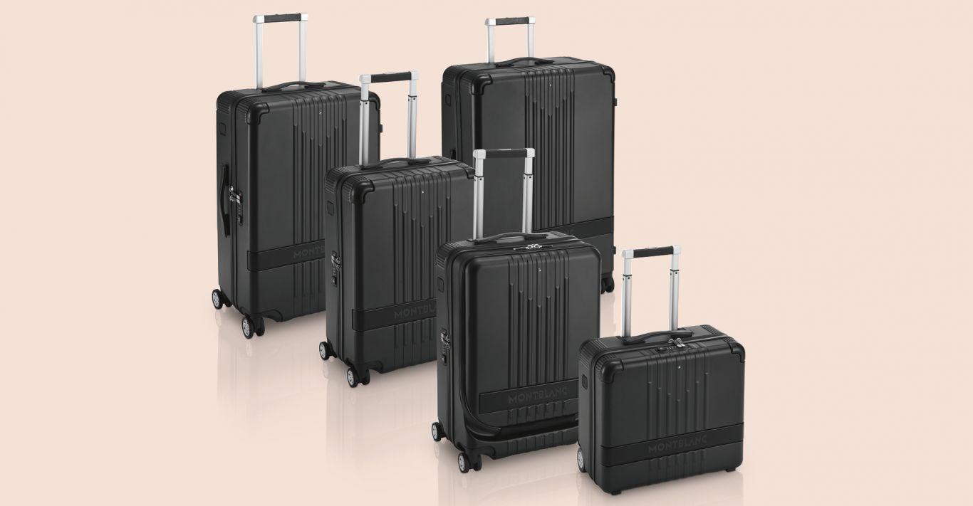 Montblanc's new #MY4810 range of luggage