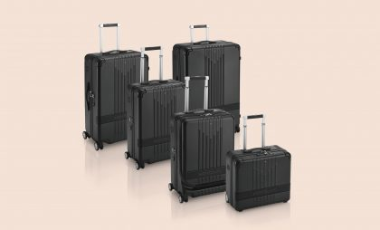 Montblanc's new #MY4810 range of luggage