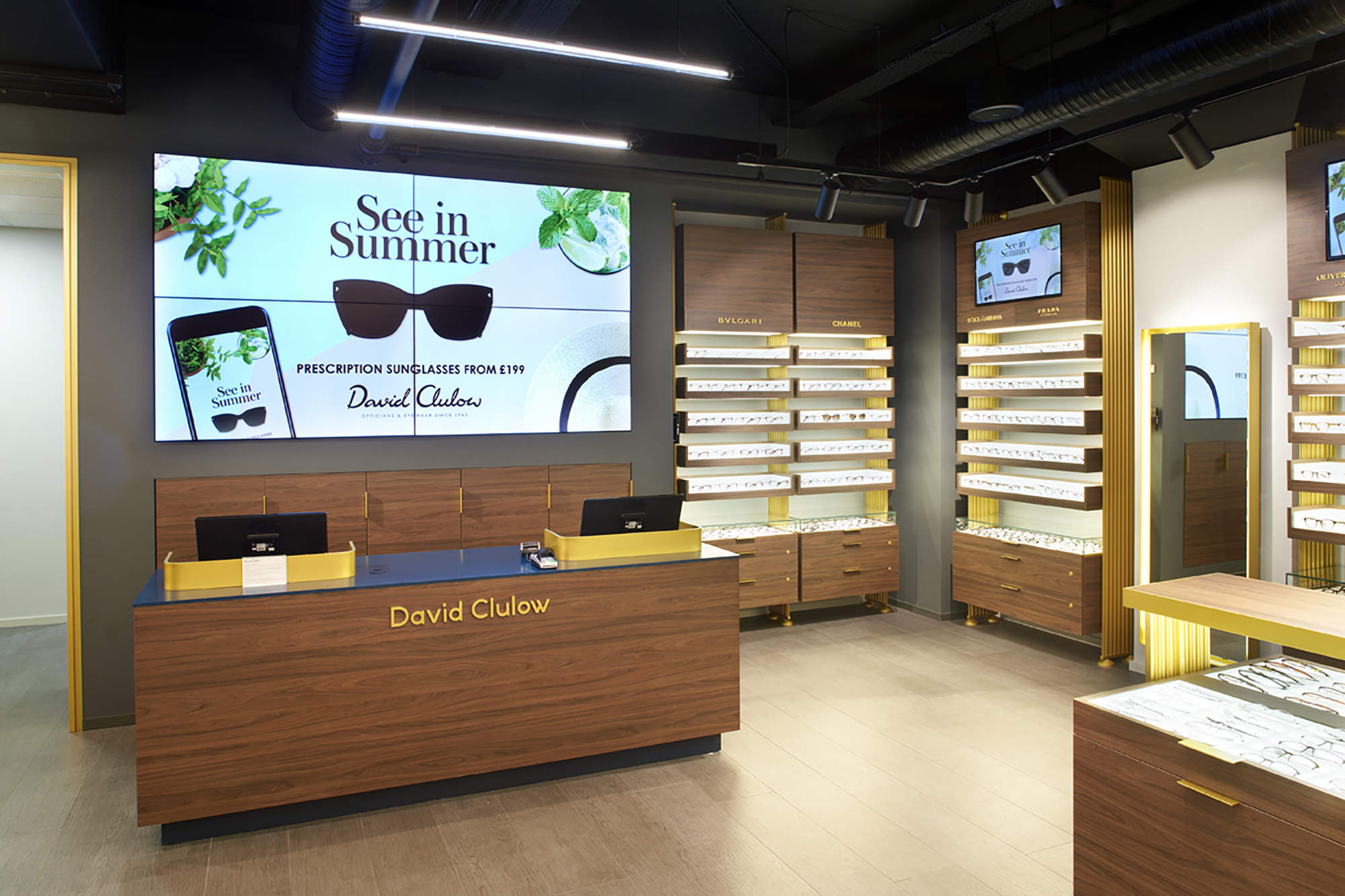 David Clulow stores have undergone a major refurbishment