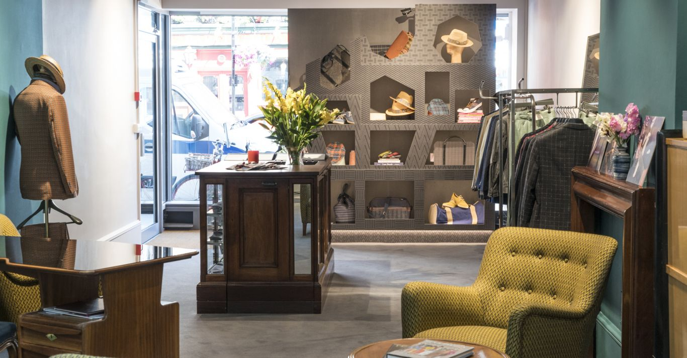 Dashing Tweeds' Marylebone store