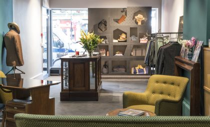 Dashing Tweeds' Marylebone store