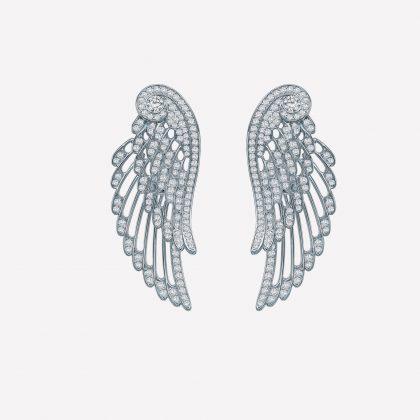 Wings Embrace Earrings by House of Garrard