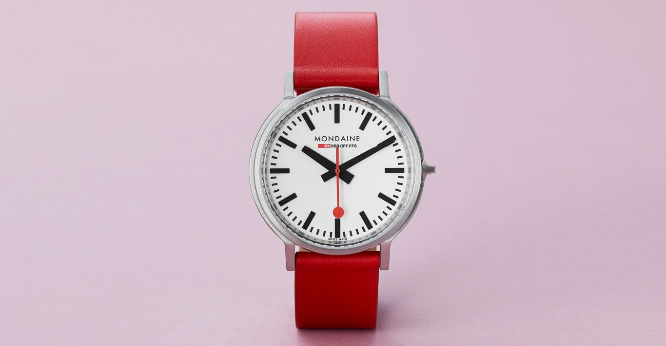 Mondaine's SBB Stop2go BackLight watch