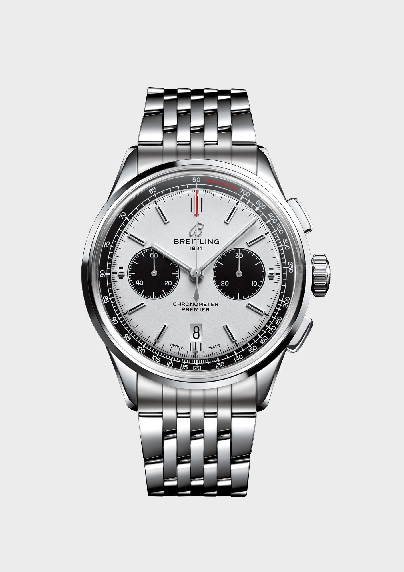 The Breitling Premier B01 Chronograph 42 has a power reserve of more than 70 hours