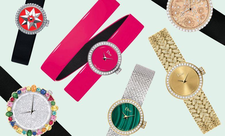 Bold and alluring: La D de Dior