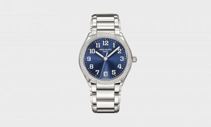 The new self-winding automatic version of Patek Philippe's Twenty~4 watch
