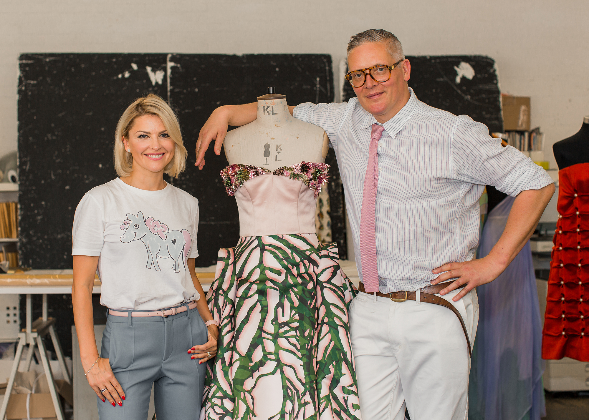 Giles Deacon for Aspinal of London