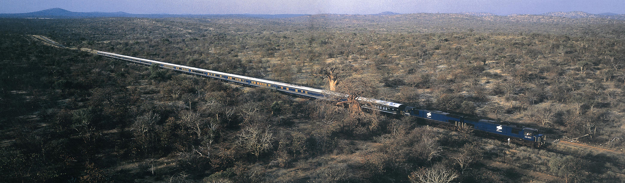 Blue Train in Karoo