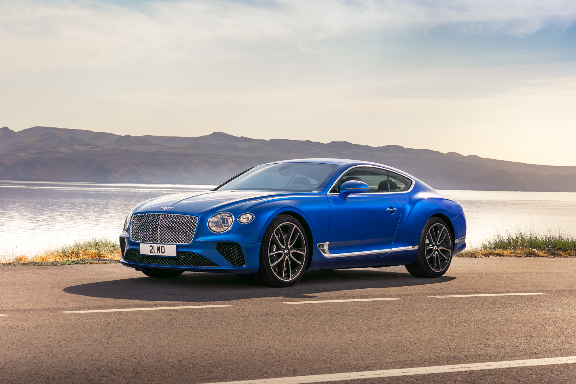The 2018 Bentley Continental GT is lighter and faster than its predecessors