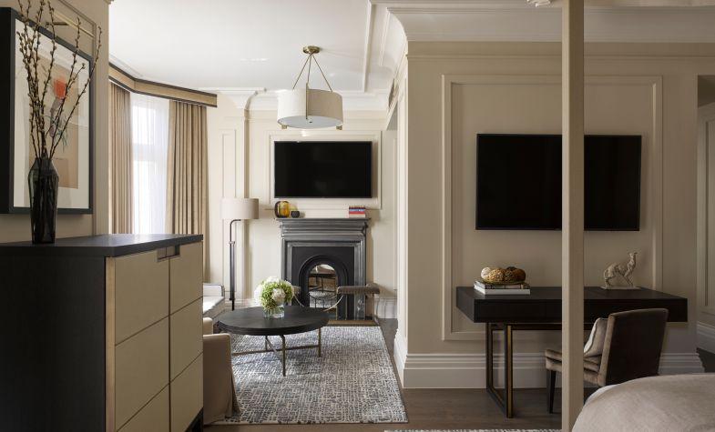 The Kimpton Fitzroy London has 334 bedrooms