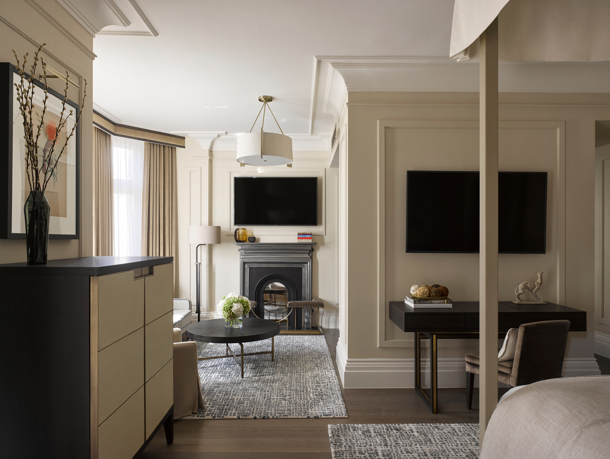The Kimpton Fitzroy London has 334 bedrooms