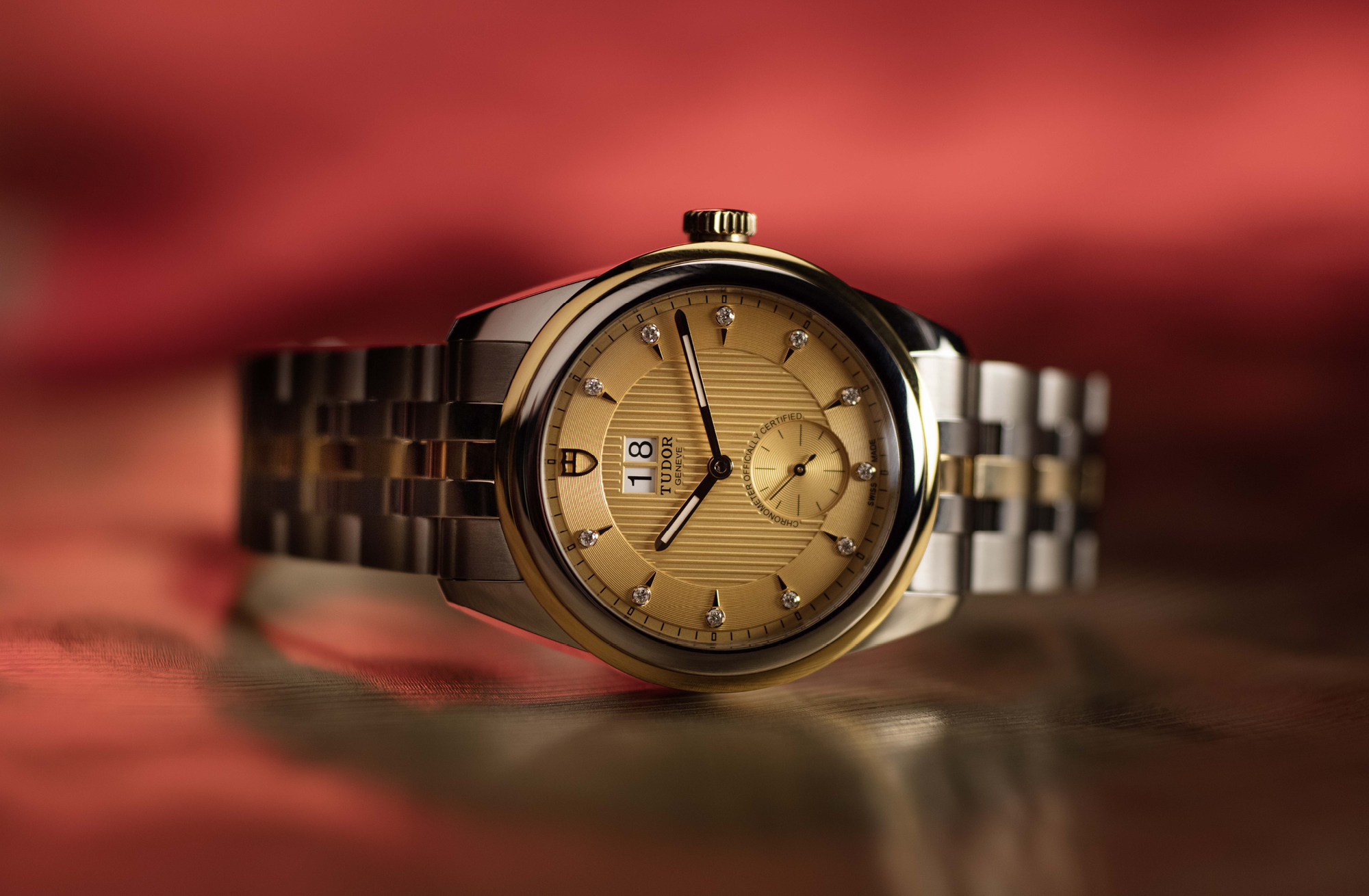 Tudor Glamour Double Date model