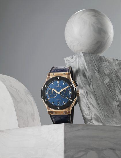 Bucherer Blue Editions - Fusion 45mm bronze automatic, £15,000, HUBLOT