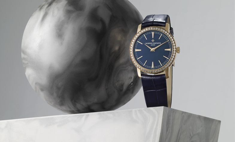 Bucherer Blue Editions - Traditionnelle 33mm rose gold manual, £24,600, VACHERON CONSTANTIN