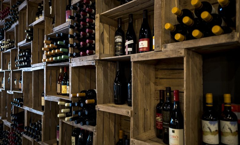 Bottles specialises in Italian wine