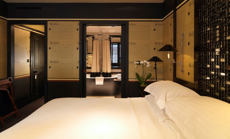 Each of Blakes Hotel's rooms is individually designed