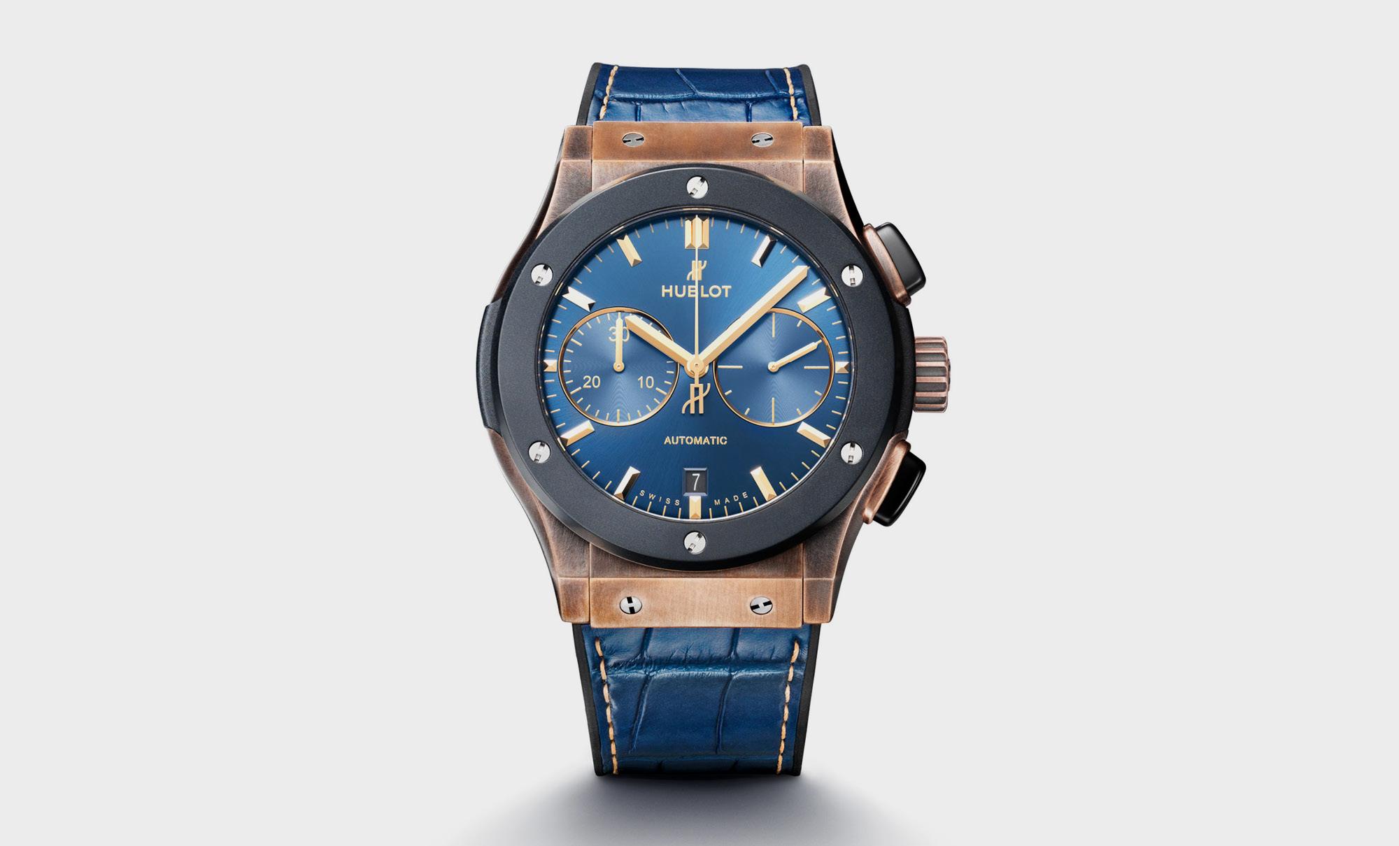 Hublot Classic Fusion Blue Edition, £15,000