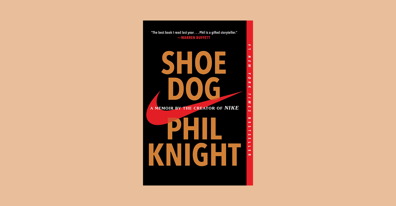 Shoe Dog by Phil Knight (£9.99, Simon & Schuster Ltd), is out now
