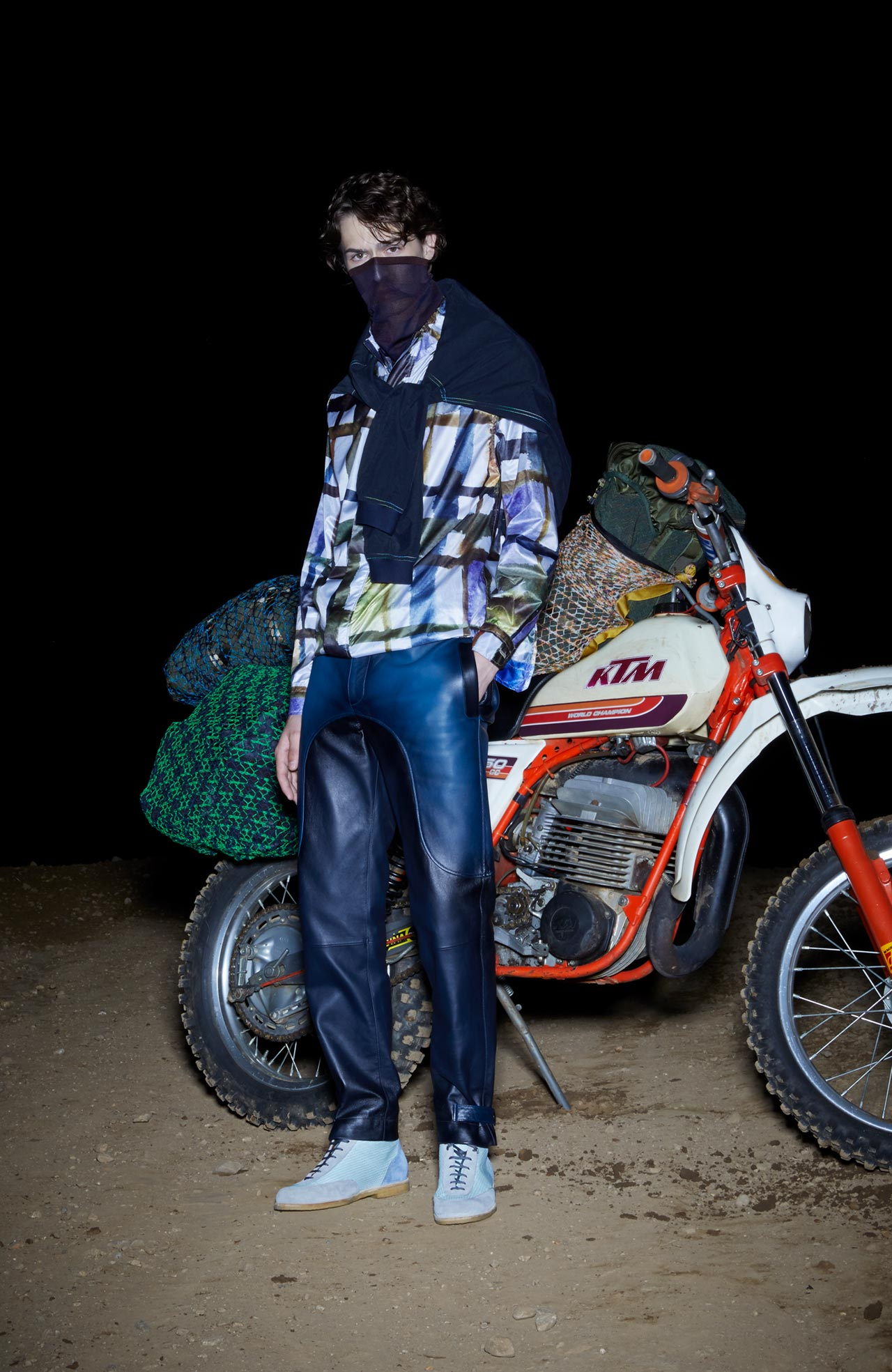 Misson's SS19 collection is inspired by the Paris to Dakar rally