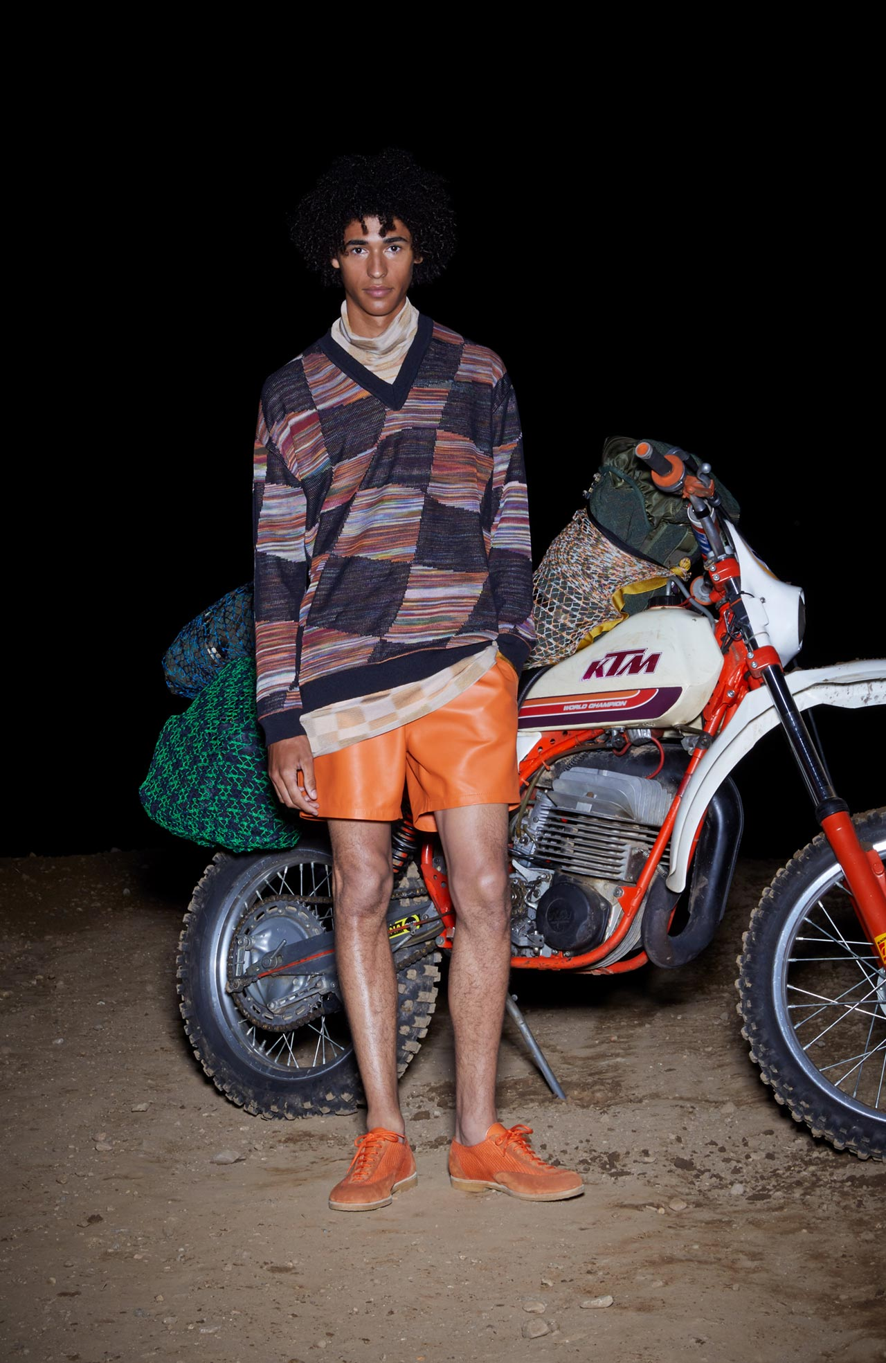 Angela Missoni was inspired by her family's love of motorcycles when creating the SS19 collection
