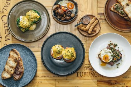Gaucho's Electric Brunch Feast includes a range of delicious and indulgent options