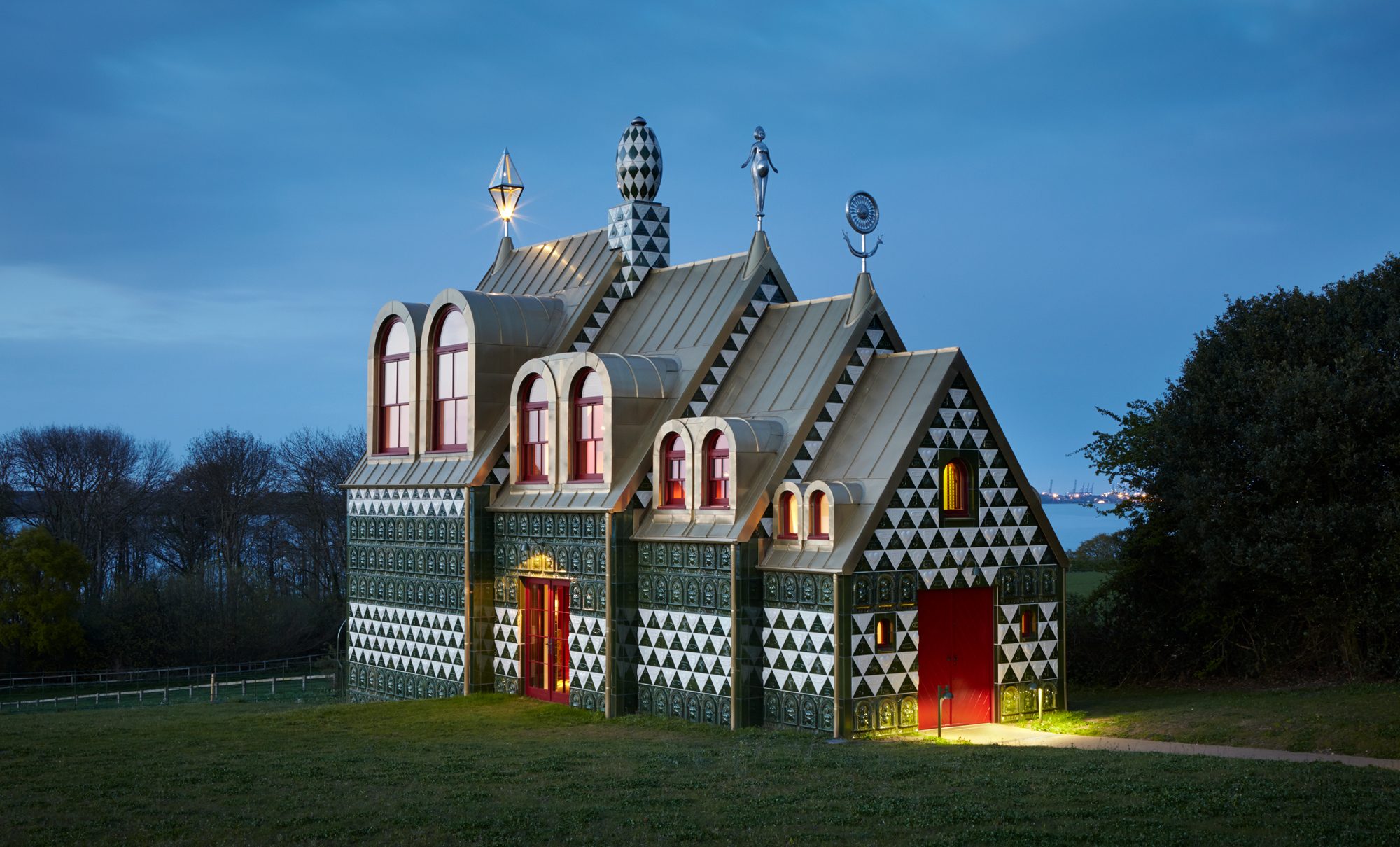 A House for Essex, Grayson Perry & Charles Holland (FAT), Wrabness, Essex, England